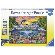 PUZZLE PARADIS TROPICAL, 100 PIESE - RAVENSBURGER (RVSPC10950)