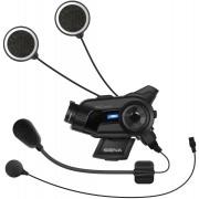 Sena 10C Pro Bluetooth komunikační systém a ovládání akční kamery VIRB Jedna velikost Černá
