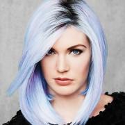 Hairdo Color Me Blue Parrucca a caschetto colore Trendy Blu