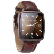 Ceas Smartwatch cu Telefon iUni U11C Plus, Bluetooth, Camera, 1.54 inch, Maro