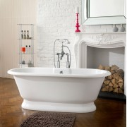 Vasca da bagno freestanding York 174x80 cm bianco