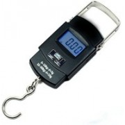 ShoppoWorld 10g-50Kg Digital Hanging Luggage Fishing Weight Scale Kitchen Scales Cooking Tools Weighing Scale(Black)