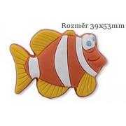Knopka 12817 pruhovaná rybička