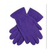 Geen Paarse fleece handschoenen