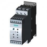 Lágyindító 25A, motor hővédelemmel, 3f 5.5-11Kw 200-480V motorokhoz, 24V AC/DC vezérlő feszültség, csavaros csatlakozás, S0 méret (Siemens 3RW4026-1TB04)