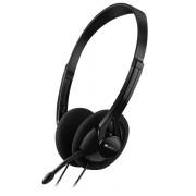 Slušalice sa mikrofonom Canyon CNE-CHS01B, Crna