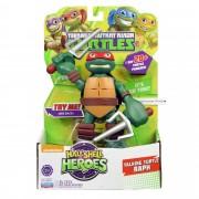 Tortues Ninja Half-Shell Heroes - Une Figurine 15 Cm Parmi Les 5 À Collectionner (Donatello, Michaelangelo, Raphaël, Leonardo Ou Schredder)