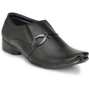 Big Junior Black Formal Shoes Slip On For Men(Black)