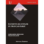 Elements de Syntaxe du francais parle