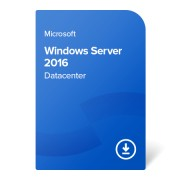 Microsoft Windows Server 2016 Datacenter (16 cores), P71-08651-DL elektronikus tanúsítvány
