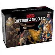 Gale Force Nine Dungeons & Dragons: Creature & NPC Cards