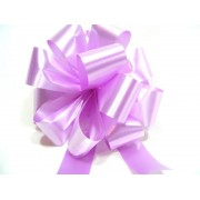 LILAC LAVENDER 50mm SATIN PULL BOW