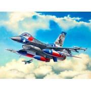 Revell Lockheed Martin F-16C Fighting Falcon katonai repülő makett 3992
