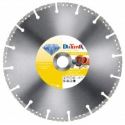 Disc diamantat MulticutMAX 350x25,4mm pentru diverse materiale [MDMMAX-350-4]