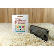 Apple Klistermärkes hemknapp för Apple iPhone och iPad (Ruta)