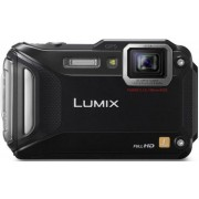 Aparat Foto Digital Panasonic Lumix DMC-FT5, 16.1 MP, Filmare Full HD, 4.6x Zoom Optic, Waterproof, WiFi, NFC (Negru)