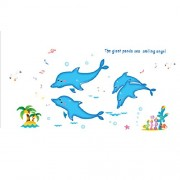 Imported 3D Dolphin Wall Decal Stickers Kids Room Decor