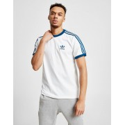 adidas Originals 3-Stripes California Short Sleeve T-Shirt Heren - Wit - Heren