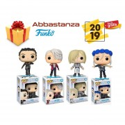 SET 4 YURI ON ICE FUNKO POP ANIME YURI YURIO VICTOR YOUNG VICTOR