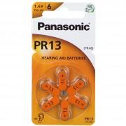 Panasonic® Pr13 Batterien für Hörgeräte 6 St