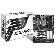 Placa de baza ASRock Z270 Pro4, socket 1151