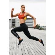 Active női sport leggings fekete M
