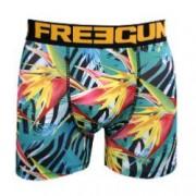 boxer freegun motif exotique