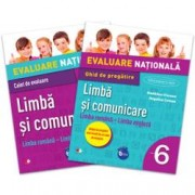Evaluare nationala. Limba si comunicare. Limba romana - Limba engleza. Ghid de pregatire. Clasa a VI-a