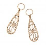 18K ドロップカットデザインチャーム【QVC】40代・50代レディースファッション