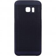 Husa Capac spate Dot Negru Samsung Galaxy S7 Edge STAR