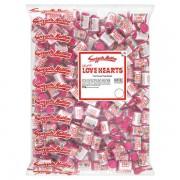 6kg Swizzels Mini Love Hearts Rolls Sweets 2 x 3kg Bags
