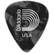 Planet Waves Black Pearl Celluloid Guitar Picks 100 pack Extra Heavy