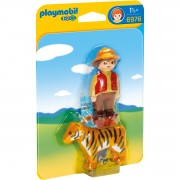 Joc PLAYMOBIL Gamekeeper with Tiger