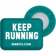 BibBits Keep Running - Female - Groen - Grootte: One Size