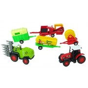 Green Farm - Tractor & Trailer Gift Pack - Farm Toys - Farming