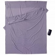 Cocoon - Insect Shield Travelsheet Double - Sac de couchage léger taille 210 x 168 cm - Double, gris