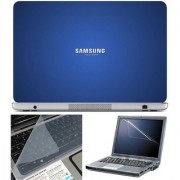 Finearts Laptop Skin Samsung Turn On Tomorrow With Screen Guard And Key Protector - Size 15.6 Inch
