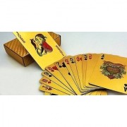 PREMIUM PLAYING CARDS (GOLD) pack of 1