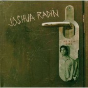 Joshua Radin - We Were Here (0828768385128) (1 CD)