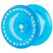 Yoyo Profesional (Tipo Transparente) MAGICYOYO K1 Spin ABS - Azul