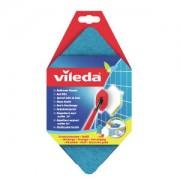 Vileda GmbH Vileda Bad-Blitz Wischbezug, Ersatzschwamm für Vileda Bad-Blitz, 1 Packung = 1 Stück