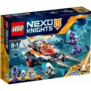 LEGO NEXO KNIGHTS - MOTOCICLETA DUBLA A LUI LANCE 70348