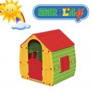 Casetta/Casa da giochi per bimbi da interno e esterno e giardino in termoplastica StarPlay - Magical House