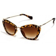 Forty Hands Cat-eye Sunglasses(Brown)