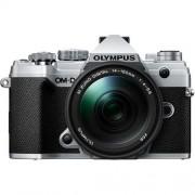 Olympus Om-D E-M5 Mark Iii + 14-150mm F/4-5.6 M.Zuiko Ed Ii - Argento - 4 Anni Di Garanzia In Italia