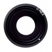 Adapter C-NEX: C mount movie Lens - Sony NEX A7 Camera