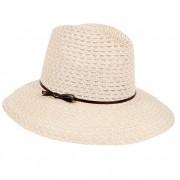 HUTTER cappello donna fedora con falda larga 100 % canapa