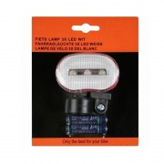 Merkloos Fietsverlichting LED voorlicht incl batterijen