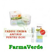 PACHET! BIOTEN Crema Antirid Zi TUS+Crema Antirid Ochi CADOU!