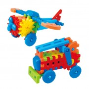 Playgo Jet/Fire Engine Construction Set Little Engineer 2023